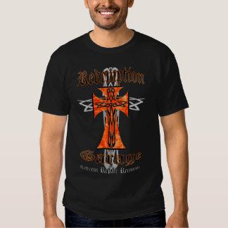 Redemption Garage Tribal Cross 2 Tee Shirt