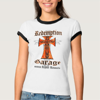 Redemption Garage Tribal Cross T Shirt