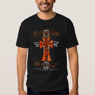 Redemption Garage Tribal Cross Tee Shirts
