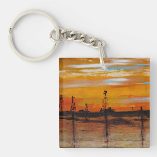 Redemption Single-Sided Square Acrylic Key Ring