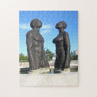 Redemption Statue Jamaica. Jigsaw Puzzle
