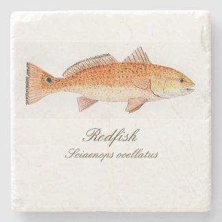 Redfish Coaster Stone Coaster