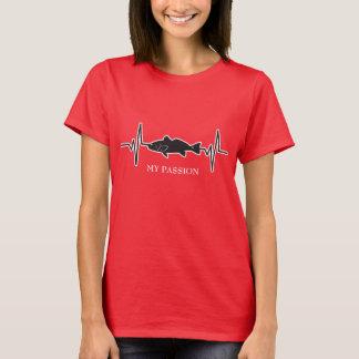 Redfish / Fishing - My Passion Heartbeat T-Shirt