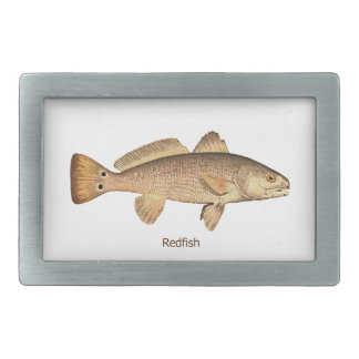 Redfish Logo Belt Buckles