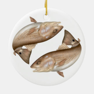 Redfish (Red Drum) Ceramic Ornament