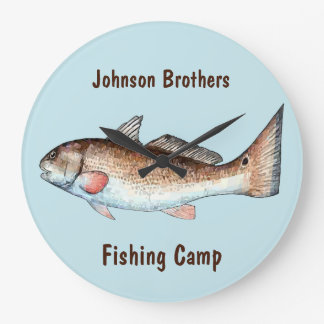 Redfish Wall Clocks