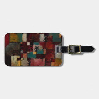 Redgreen and Violet-yellow Rhythms by Paul Klee Luggage Tag