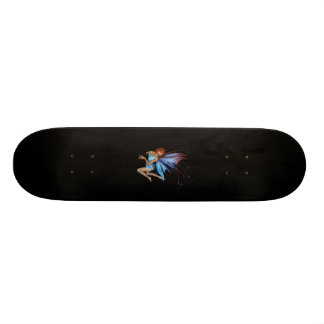 Redhead 3D Pixie - Purple & Blue 18.1 Cm Old School Skateboard Deck