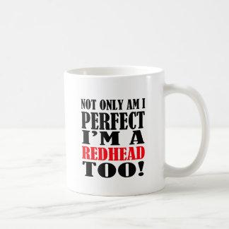 redhead coffee mug