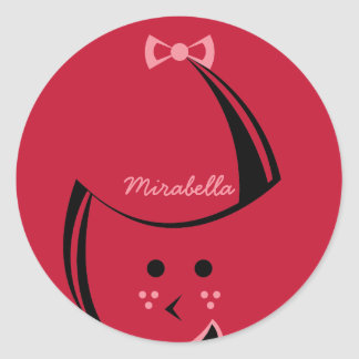 Redhead Customizable Stickers