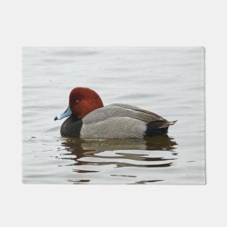 Redhead Duck Drake Doormat