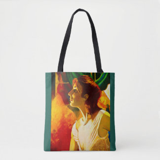 REDHEAD IN THE MIRROR tote