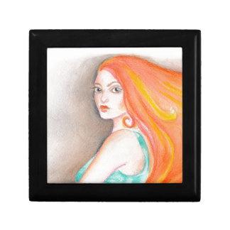Redhead Lady Gift Box