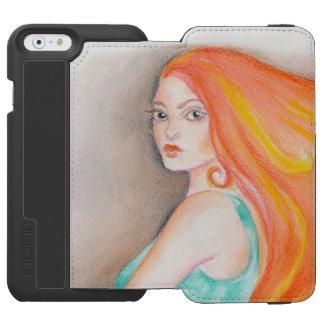 Redhead Lady Incipio Watson™ iPhone 6 Wallet Case