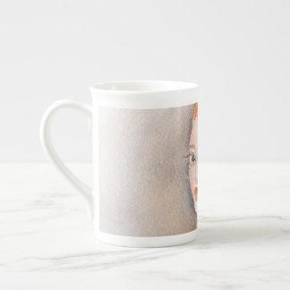 Redhead Lady Tea Cup