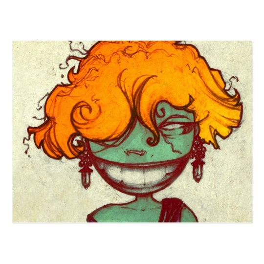 Redhead Postcard