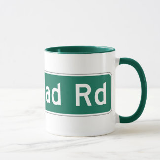 Redhead Road, Street Sign, Iowa, US Mug