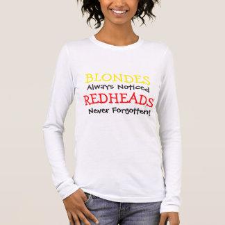Redheads Never Forgotten Long Sleeve T-Shirt