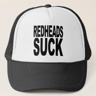 Redheads Suck Trucker Hat