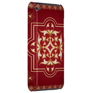 Redish Wine Gold Art Case-Mate iPod Touch Barely There iPod Case