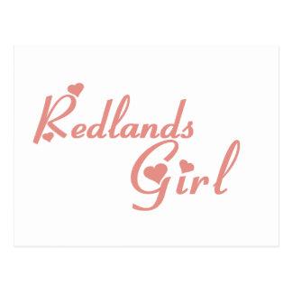 Redlands Girl tee shirts Postcard