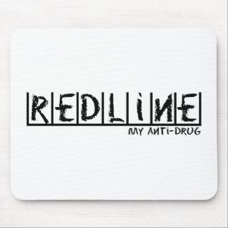 Redline Anti-Drug Mouse Pad