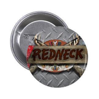 Redneck 6 Cm Round Badge