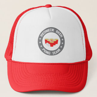 Redneck Beer Pong Team Logo Hats Caps