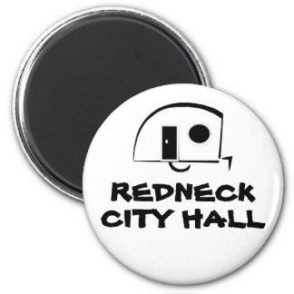 REDNECK CITY HALL fridge magnet