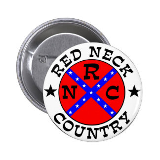 Redneck Country Pinback Buttons