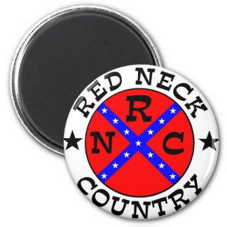 Redneck Country Fridge Magnet