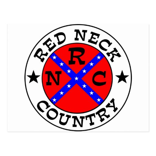Redneck Country Postcard