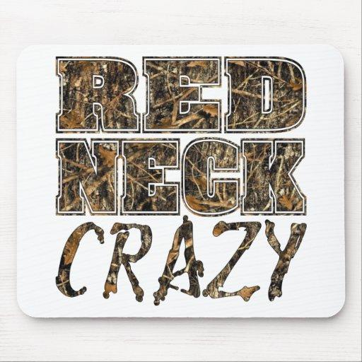 Redneck Crazy Camo Mousepads