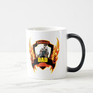 Redneck Dad Fathers Day Gifts Magic Mug