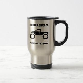 Redneck Divorce Stainless Steel Travel Mug