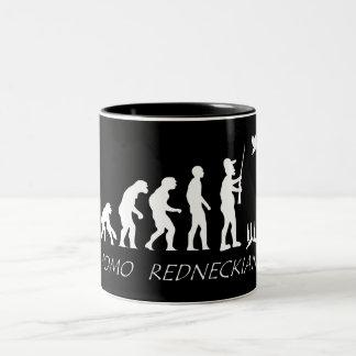 Redneck Evolution Coffee Mugs