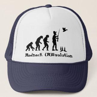 Redneck Evolution or Revolution Trucker Hat
