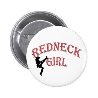 Redneck Girl Button