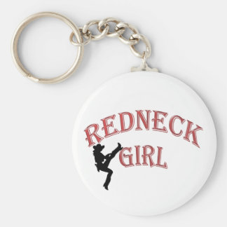 Redneck Girl Keychain