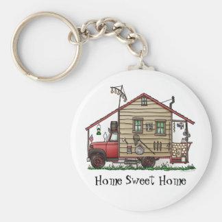 Redneck Hillbilly Camper Keychains
