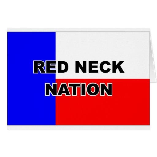 Redneck Nation Greeting Cards