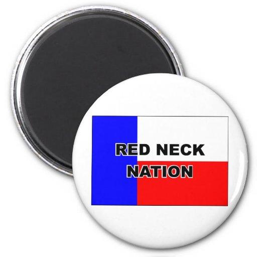 Redneck Nation Fridge Magnet