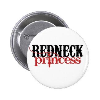 Redneck Princess 6 Cm Round Badge