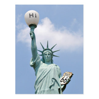 Redneck Statue of Liberty Postcard