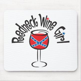 Redneck Wine Girl1 Mouse Pad