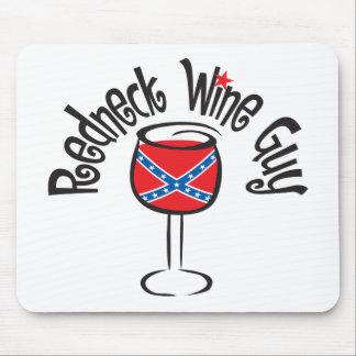 Redneck Wine Guy1 Mouse Pad