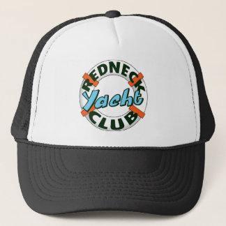 redneck yacht club trucker hat