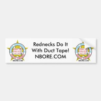 Rednecks Do It With Duct Tape Bumper Sticker