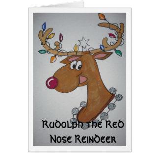 Rednose Reindeer Cards