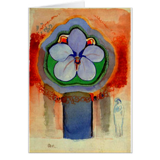 Redon - Strange Orchid Card